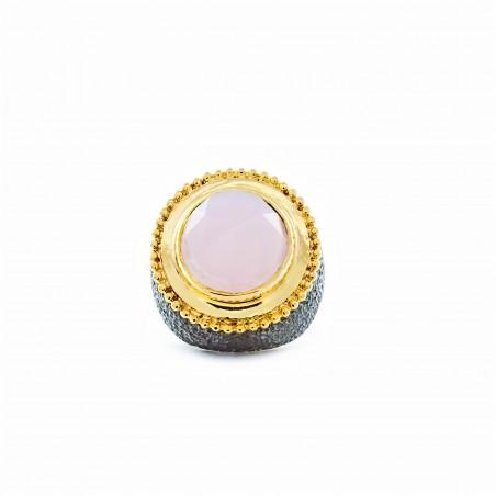 Vintage Silber Türkis Blau Stein Ring